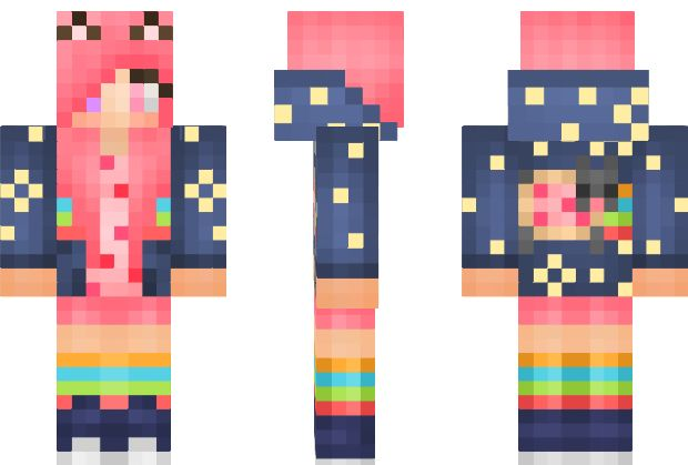 Nyan Cat Fan Girl Skin. I want to find this so I can show if off (like im not used to it :P)