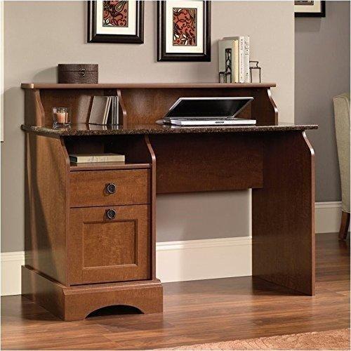 Sauder Graham Hill Desk Autum Maple Finish