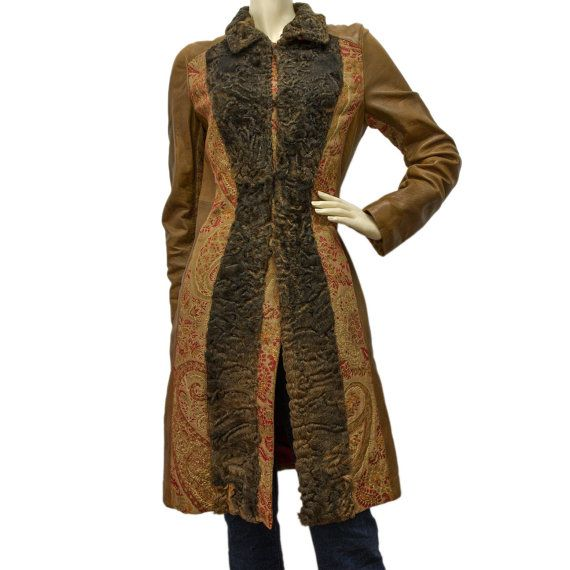 Check out this item in my Etsy shop https://www.etsy.com/it/listing/251746755/etro-milano-vintage-coat-leather-persian