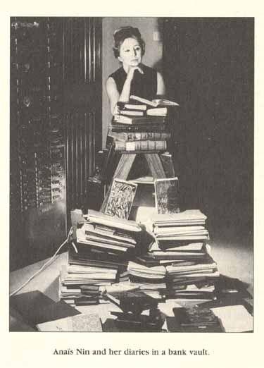 Anias Nin and her diaries