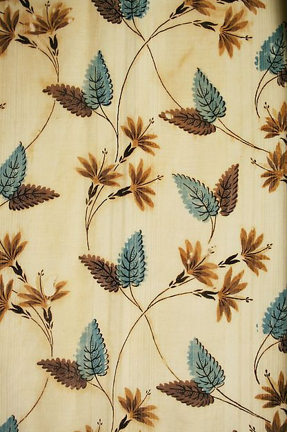 Visiting dress, ca. 1830. American, cotton