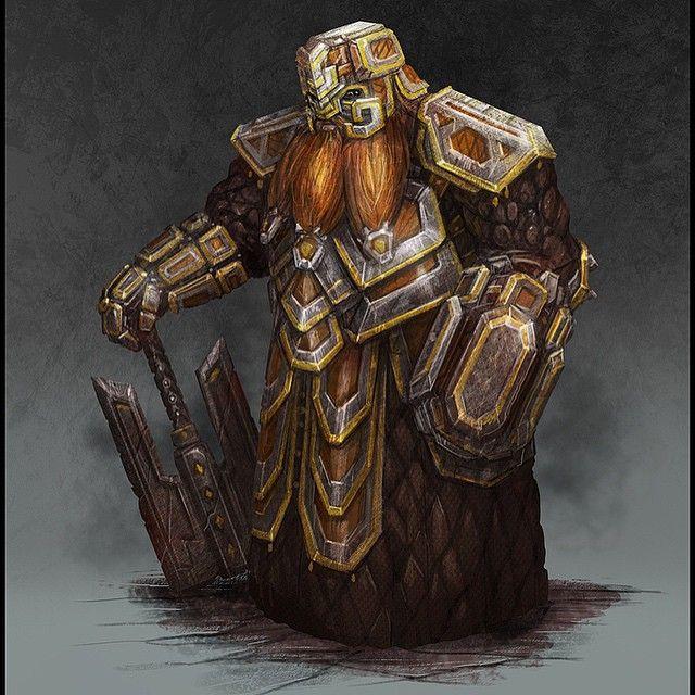 Torag's Servant for Pathfinder 2013-2014 © Paizo Publishing #art #conceptart #digitalart #characterdesign #fantasy #illustration #pathfinder