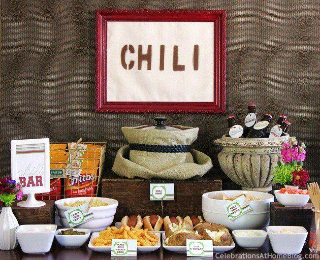 Set Up A Chili Bar + All-Purpose Chili Recipe! — Celebrations at Home