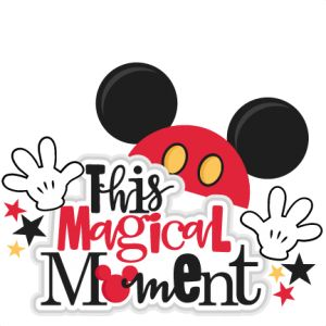 This Magical Moment title SVG