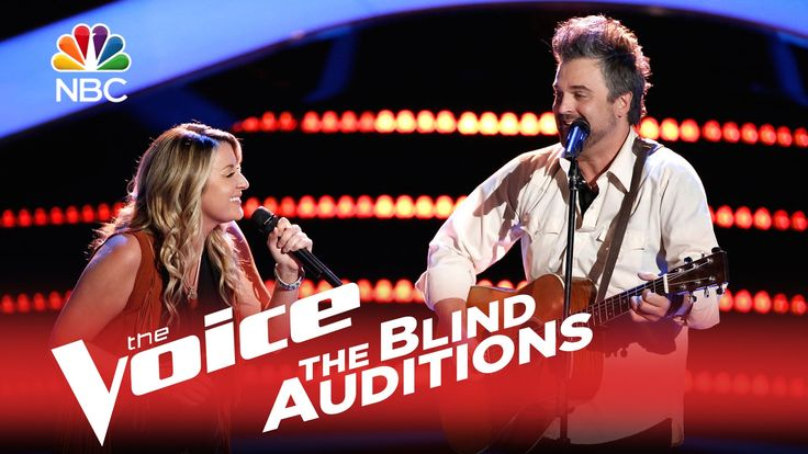 "The Voice 2015 Blind Audition - Jubal and Amanda: ""Seven Bridges Road"""
