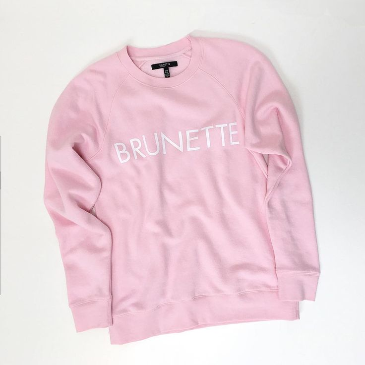 "570 Likes, 25 Comments - BRUNETTE the label (@brunettethelabel) on Instagram: ""PRETTY PINK - Babes, we are so IN LOVE with these new crews... almost as much as a new pony,…"""