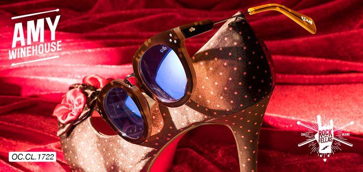 Coleção Rock Fellas por Chilli Beans, em tributo a Amy Winehouse, inspirado em sua canção Rehab esse óculos é puro estilo!