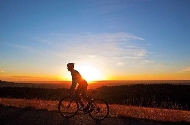 If something stands between you and your success move it. Never be denied. -Dwayne Johson : @jodygrigg  #garmin #fitness #Edge #bike #cycling #workout #outside #fit #training #goals #success #BeatYesterday #sun #sunrise #climb by garmin
