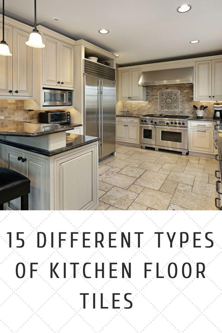 Diffe Types Of Kitchen Floor Tiles