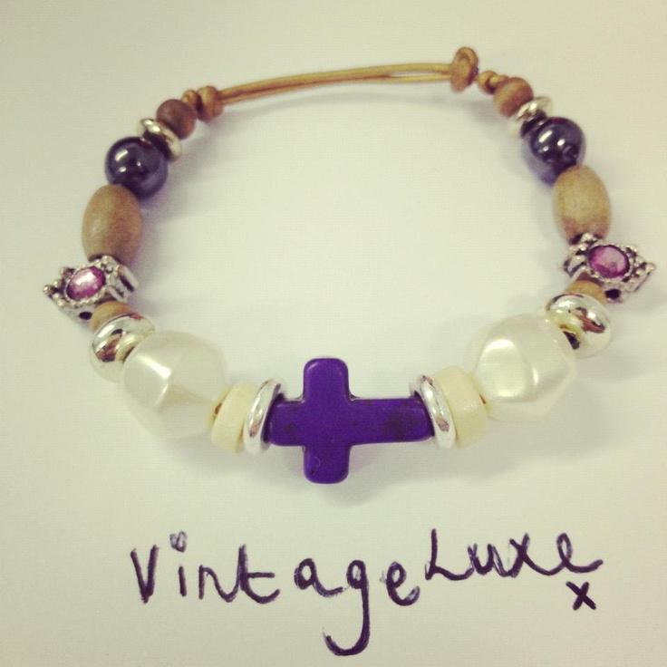 #jewellery #vintage #boho #vintageluxe #handmade #bracelet  #bohemian #cross