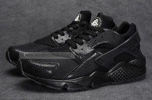 Nike Air Huarache Triple Black Mens