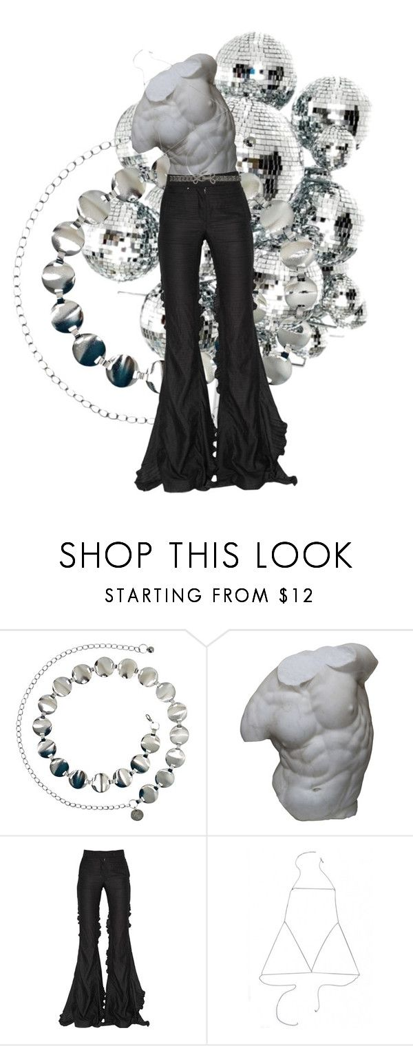 """""""saturday night fever"""" by vhss ❤ liked on Polyvore featuring Dauphine, Romanelli, Marco de Vincenzo, BCBGMAXAZRIA, men's fashion and menswear"""