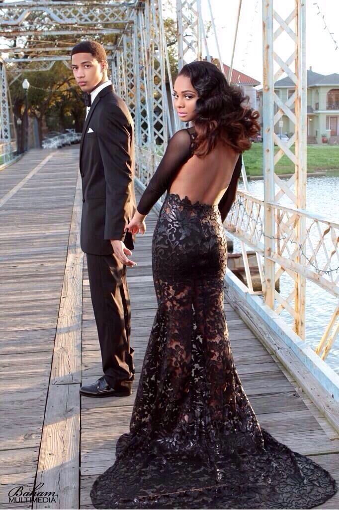 2832a717766 cute black couples prom - Google Search