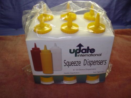 CS 36 Retail Packaged 12oz Yellow Squeeze Bottles | eBay