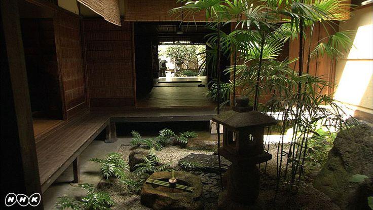 file219「京の坪庭」 NHK 鑑賞マニュアル 美の壺