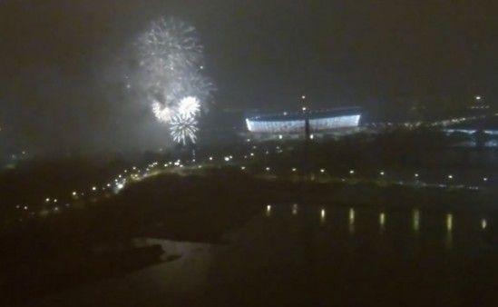 Tak wyglądała sylewstrowa noc w Warszawie [WIDEO]