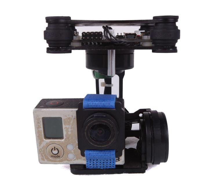 Gopro 3-Axis Brushless Gimbal Camera Mount & 32bit Storm32 Controller for DJI Phantom 1 2 &Walkera QX 350
