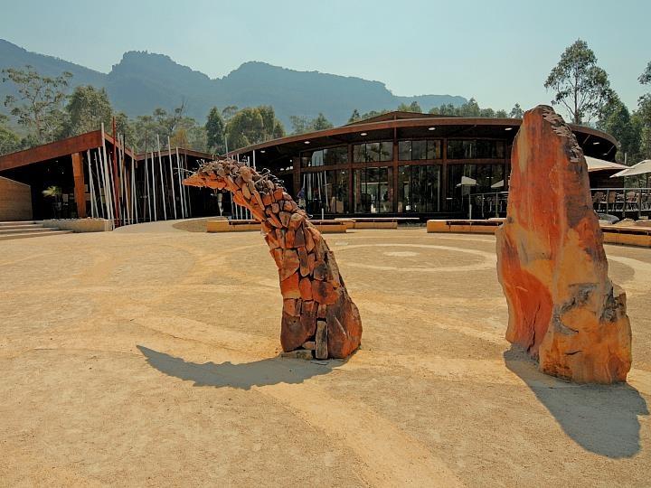 Brambuk indigenous cultural centre at Halls Gap, Western Victoria, Australia