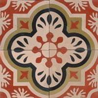 handpainted tile