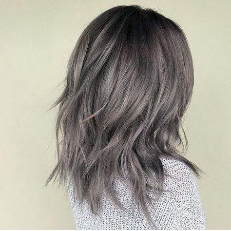 nice Пепельный цвет волос (50 фото) - все оттенки и особенности искусственной седины Читай больше http://avrorra.com/pepelnyj-cvet-volos-foto/