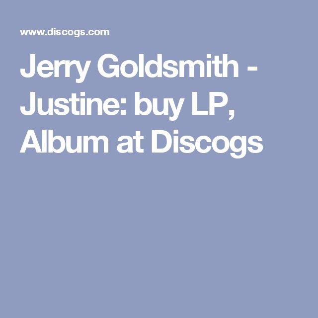 Jerry Goldsmith - Justine: buy LP, Album at Discogs