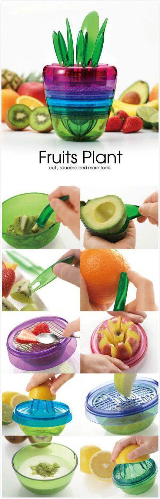 Fruit slicer,coupon code:Happyday07 ,10% off .#discount #gadgets #forthekitchen