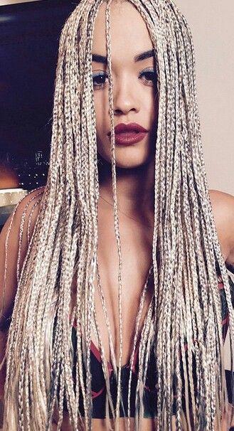 Platinum braids
