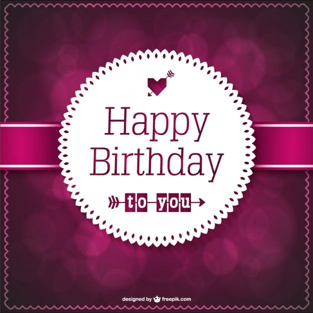 145 best Birthday images on Pinterest Happy birthday greetings - happy birthday card template free download