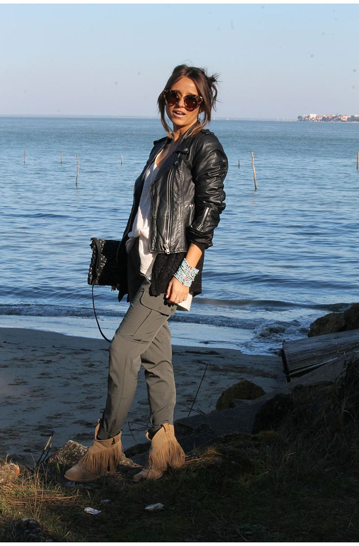 Beach look - fringes boots - www.noholita.fr
