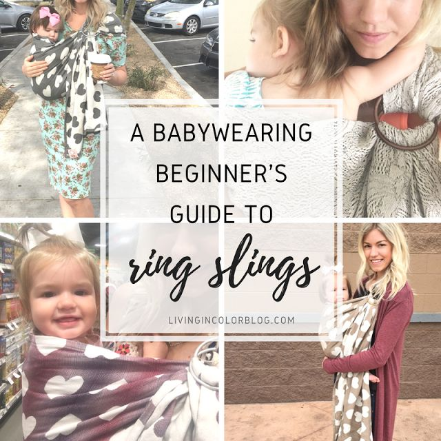 Living in Color | A Life & Style Blog: Babywearing | Beginners Guide To Using A Ring Sling