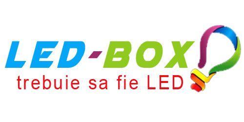 Led-Box LED SHOP noul logo de la led-box.ro. Ce parere aveti? cum se poate schimba?