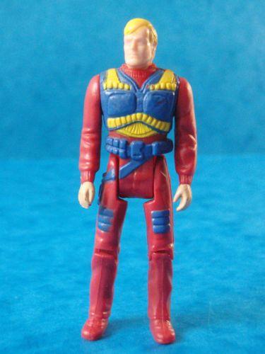 "Vintage M.A.S.K Figure - COAST PATROL MATT TRACKER - 1980's Toy - Approx 2.5"""