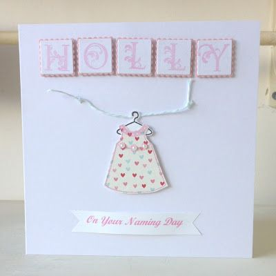 A World of Imagination: Naming Day Cards........for twins.