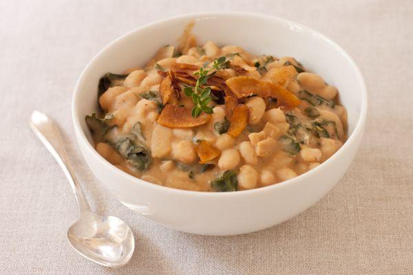 ... beans soup beans vegetarian soups kale soup coconut bacon fresh thyme
