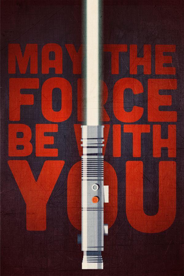 May The Force Be With You | By: Twentyone Creative | #starwars #maytheforcebewithyou #starwarsfanart