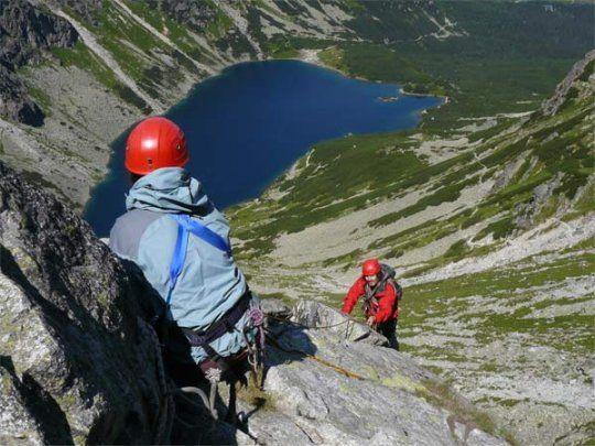 Tatra Mountains: Rock Climbing // Do you want to try rock climbing in Tatra Mountains? check http://eltours.com/tailor-made-customized-tours