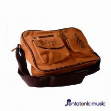Music Sling Bag Brown