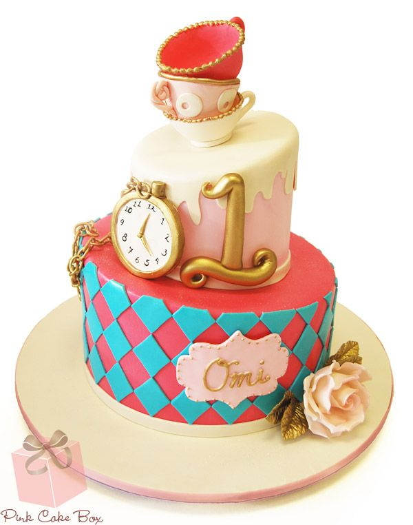 61 best First Birthday Cakes images on Pinterest Cake boxes 1st