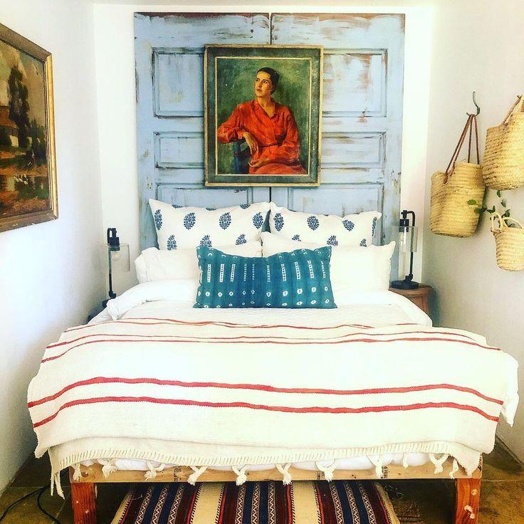 "Lizzie Mcgraw on Instagram: ""Fifi @fificoconut your room is ready!!! #cozybedroom #tumbleweedanddandelion #venicebeach #venicebeachcellarstyle #inspo #designinspiration…"""