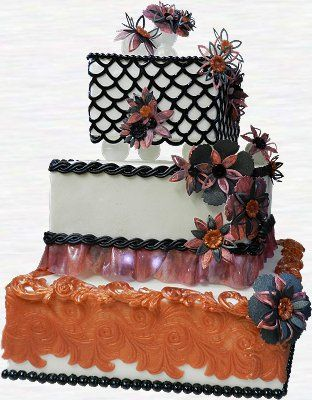 Cake Art Tucker : 97 best images about DECOgel on Pinterest Copper, Pearls ...