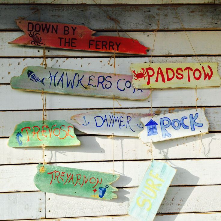 Funky wall at Down by the Ferry Cafe just 30 minutes drive from your holiday home at Bosinver Holiday Cottages #cornwall