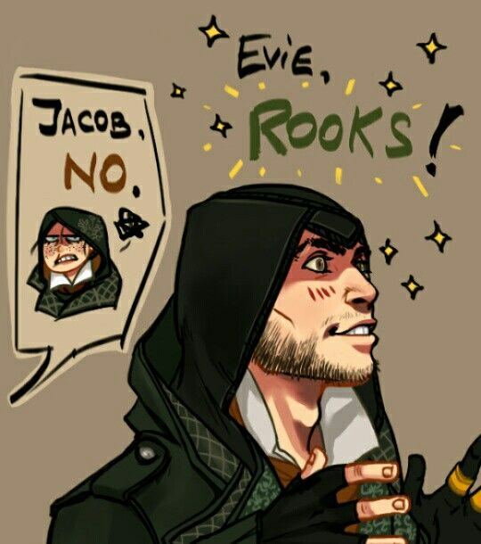 LOLOL. Evie & Jacob Frye. Assassin's Creed Syndicate