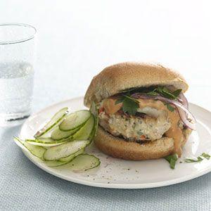 Maria Menounos Mykonos Burger | MyRecipes.com