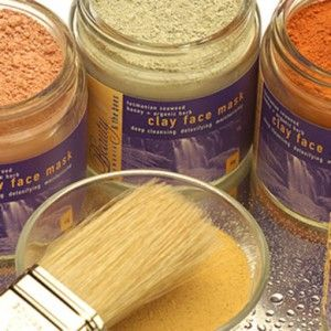 Beauty & the Bees green clay face mask 65g, $21.00 + $10 shipping