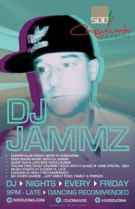 Supper Club Friday ft. DJ JAMZZ  @ Cinquecento Cucina | Calgary | Alberta | Canada