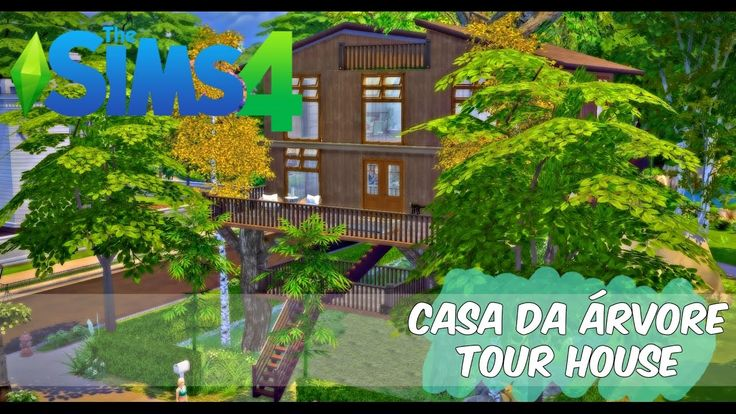 The Sims 4   Casa da árvore - Tour House Hi, people are beautiful in my life. How are you? Who ever as a child or even adult, did not want to have a tree house?!  Well I have come to realize the dream of many, at least in The Sims kkkkk. I present to you the Treehouse. I sincerely hope you like it. The download link can be found in the description of the video. Kisses! https://youtu.be/h4OpfA-BAbQ