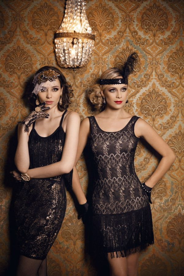 The Roaring Twenties look.