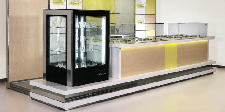 Cristalbar Easy by ISA. #interior #arredamento #bar #pub #pasticcerie www.isaitaly.com
