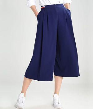 Fusta pantalon lunga Tommy Hilfiger | Cea mai buna oferta