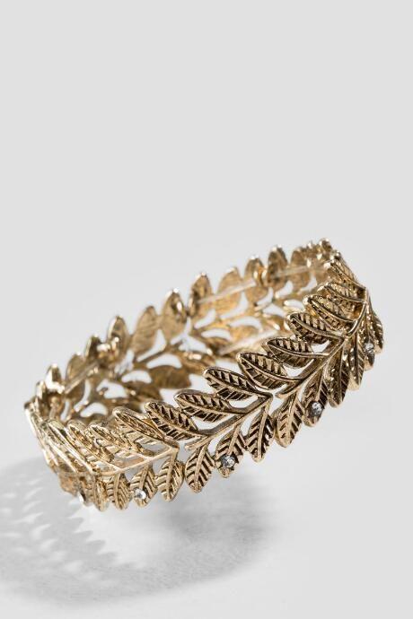 Damita Leaf Vine Stretch Bracelet $16.00